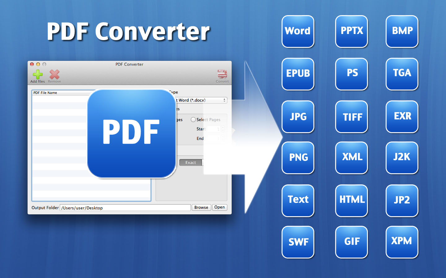 Convert a file to another format